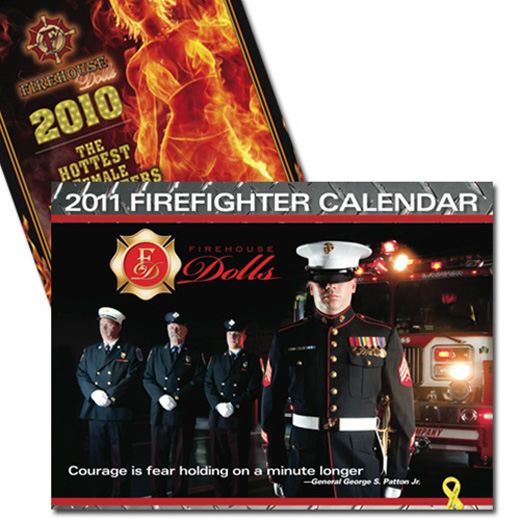 Firehouse Dolls 2011 Female Firefighter Calendar