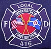 Indianapolis Local 416 Embroidered Emblem