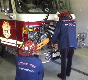 2e66e156be Firemans Chore: Denim Firefighter Job Jackets and Chore Coats ...