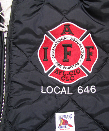 Large 4½ X 4½ IAFF Chest Logo