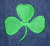 Solid Fill Embroidered Shamrock